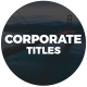 Corporate Titles