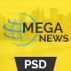 Mega News - Multipurpose News Magazine Responsive Template