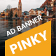 Pinky | Travel HTML 5 Animated Google Banner