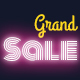 Grand Sale - Animated HTML5 Banners Promoting Sales Footwear and Clothing