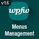 WordPress Menus Management