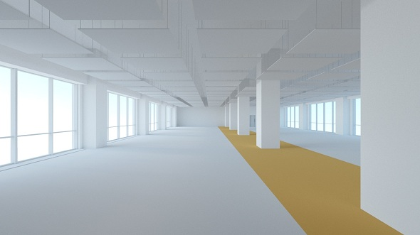 Office space 2b - 3DOcean Item for Sale
