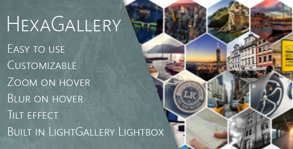 Hexa Gallery for Visual Composer
