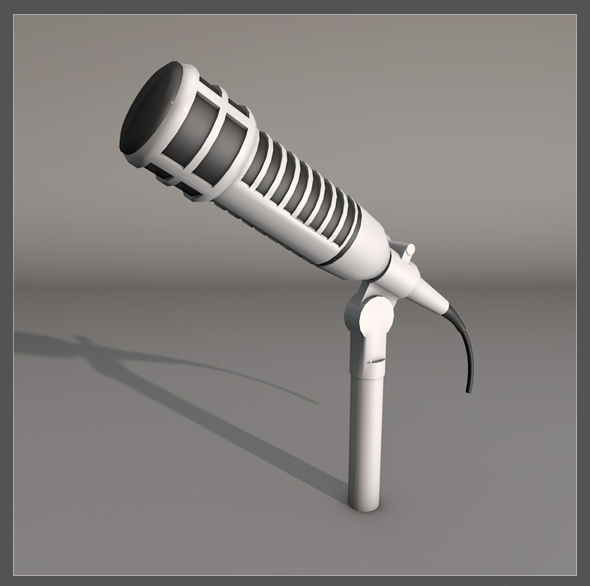 Microphone - 3DOcean Item for Sale