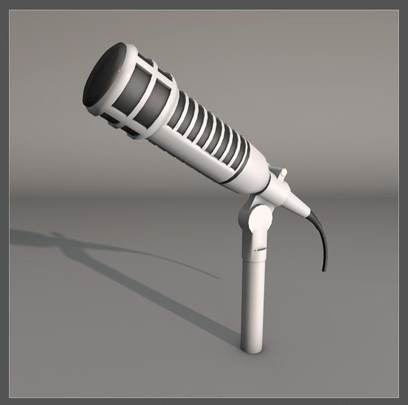 3DOcean Microphone 19383063
