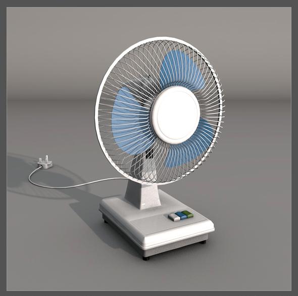 Fan - 3DOcean Item for Sale