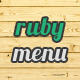 Ruby Mega Menu