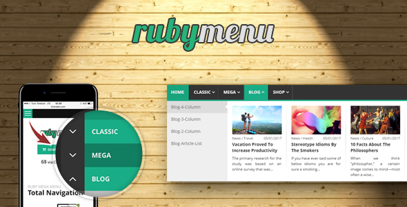 Download Ruby Mega Menu