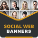 Social Web Banners - HTML5 Ad Templates