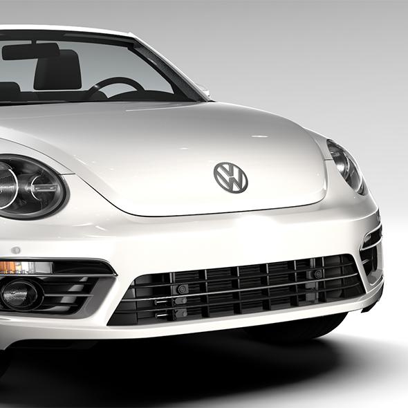 3DOcean VW Beetle Cabriolet 2017 19383608