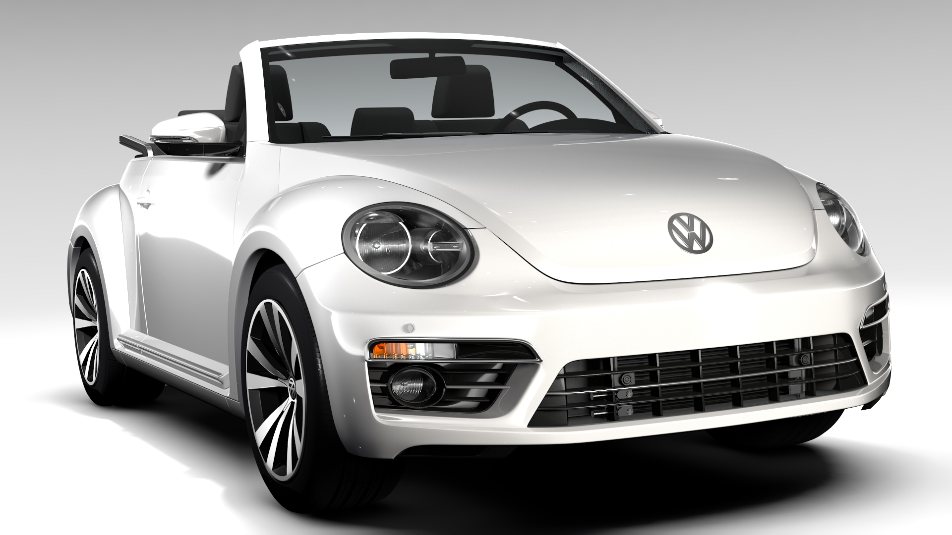 vw beetle cabriolet 2017 by creator 3d 3docean. Black Bedroom Furniture Sets. Home Design Ideas