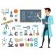 Scientific Icons Set
