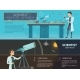 Science Colorful Horizontal Banners