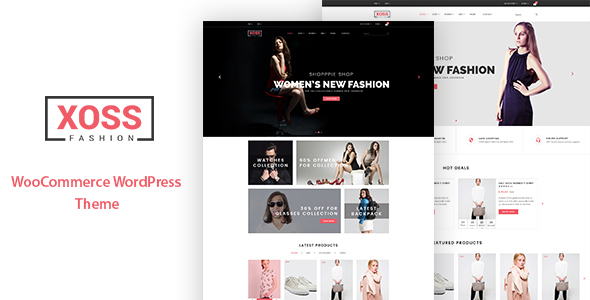 Xoss - WooCommerce WordPress Theme