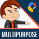 GWD   Multipurpose HTML5 Ad Banner Templates - 7 Sizes