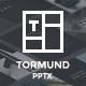 Thormund - Design & Portfolio Powerpoint Template
