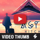 Astral Hitchhiker - Music Video Thumbnail Artwork Template