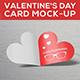 Valentine s Day Card Mock-up