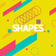 Abstract Shapes Backgrounds-Graphicriver中文最全的素材分享平台