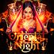 Oriental Night Flyer Template