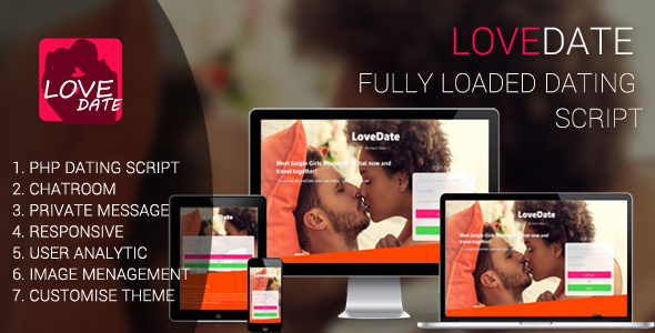 LoveDate - Premium Dating Script
