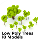 Download Low Poly Trees Pack from 3DOcean