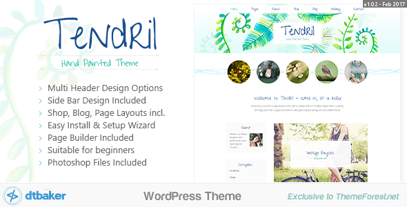 Download Tendril Creative Blog Shop