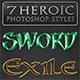 7 Heroic Photoshop Styles