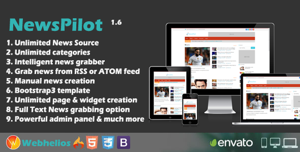 NewsPilot - Autopilot News Script - CodeCanyon Item for Sale