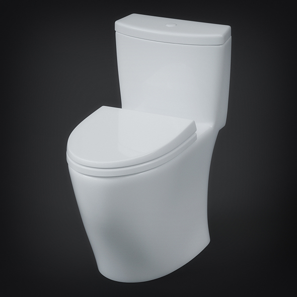 Toilet Seat - 3DOcean Item for Sale