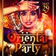 Oriental Party Flyer Template