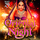 Oriental Night Flyer Template 2