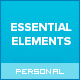 Essential Elements - Creative WordPress theme for writers and bloggers