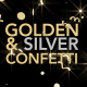 Golden & Silver Confetti
