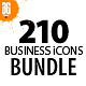 210 Business icon Bundle