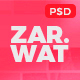 Zarwat Creative One Page PSD Template