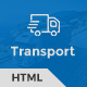 Trust Transport - Transportation and Logistics HTML Template