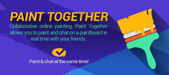 CodeCanyon Paint Together Social Painting App 19305433