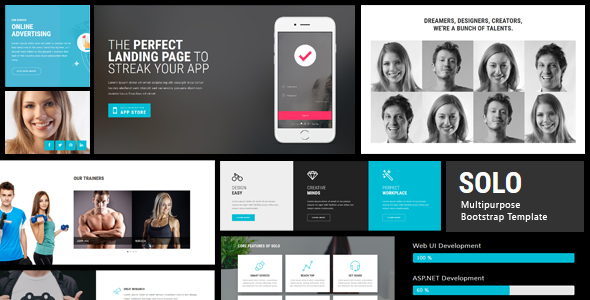 Solo - 103+ Pages HTML Bootstrap Template