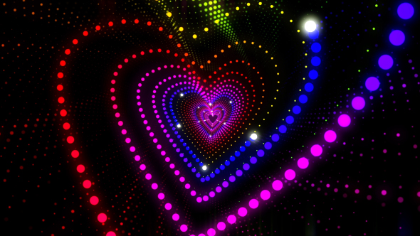 VideoHive Vj Heart Loop 19394611