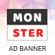 Monster | Business HTML 5 Google Banner