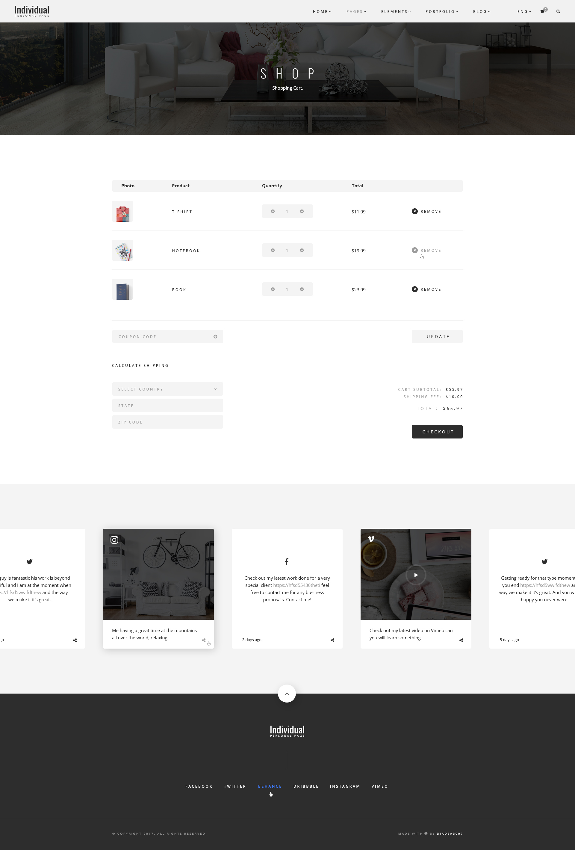 individual personal page psd template by diadea3007 themeforest 30 404 page jpg 31 blog sidebar jpg 32 blog single post jpg 33 blog fullwidth jpg 34 shop grid jpg 35 shop list jpg 36 shop single post jpg