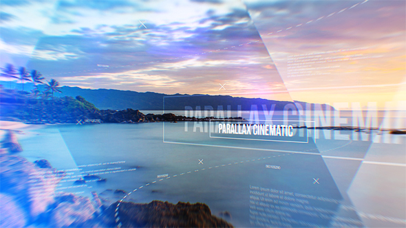 VideoHive Parallax Cinematic Modern Slideshow 19395443