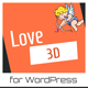Love 3D - Valentine's Day Plugin for WordPress