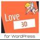 Love 3D - Valentine's Day Plugin for WordPress