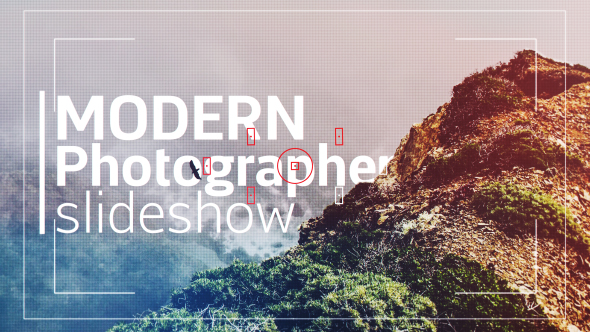 VideoHive Modern Photographer Slideshow Opener 19396053