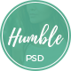 Humble - Personal Blog PSD Template