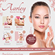 Beauty Care Flyer + Business Card-Graphicriver中文最全的素材分享平台