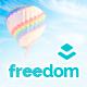 Freedom - Multipurpose Layers One Page WordPress Theme
