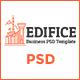 Edifice- Business PSD Template